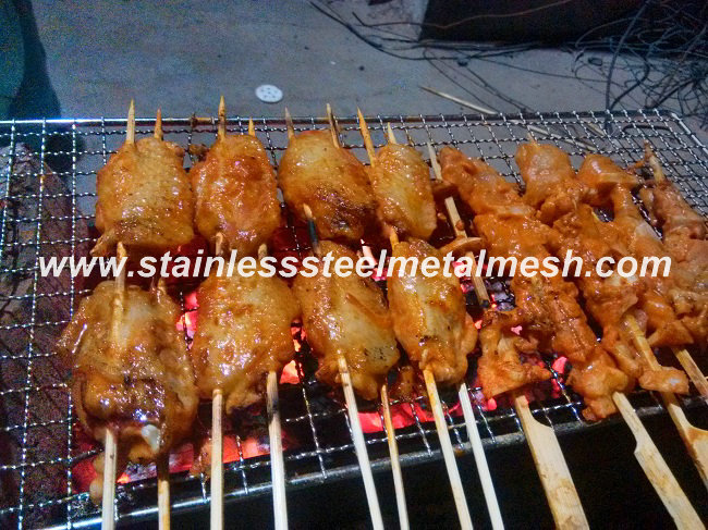 Stainless Steel Crimped Mesh Used For BBQ