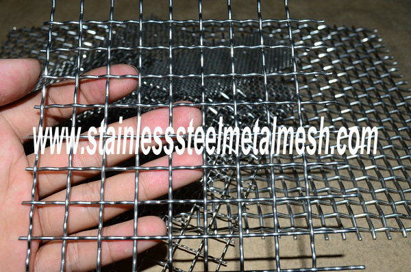 Crimped Wire Mesh, Stainless Steel Crimped Mesh