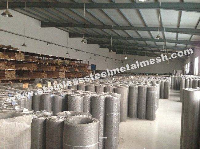 Stainless Steel Wire Mesh Stock