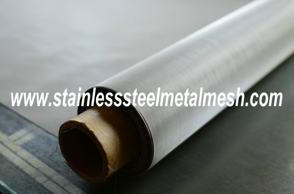 325Mesh Stainless Steel Screen Printing 0.023mm