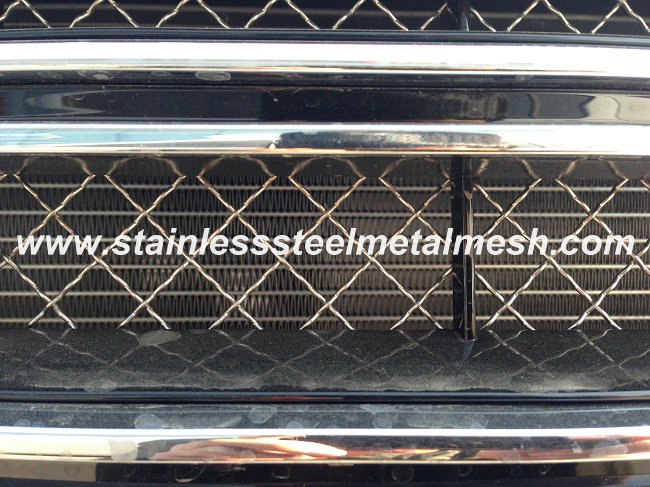 Stainless Steel Crimped Mesh Used For Car Front Grill